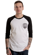 Honour Over Glory - Baseball White/Black - Longsleeve
