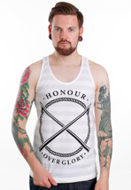 Honour Over Glory - Harpoon Stripe White - Tank
