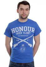 Honour Over Glory - Self Preservation Royal - T-Shirt