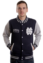 Honour Over Glory - Varsity Navy/Grey - College Jacket
