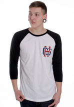 Honour Over Glory - Varsity Team White/Black - Longsleeve