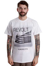 Hundredth - Reversed Flag White - T-Shirt
