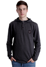 Hurley - Art Time Heather Black - Hoodie