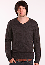 Hurley - One & Only V-Neck Cinder - Sweater