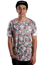 HYPE. - Camo Flower Multicolored - T-Shirt