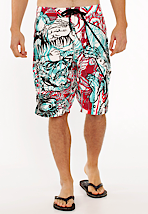 Iron Fist - 3D Monster Multi - Board Shorts