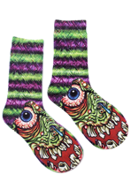 Iron Fist - Ace Striped Ghoul Multicolored - Socks