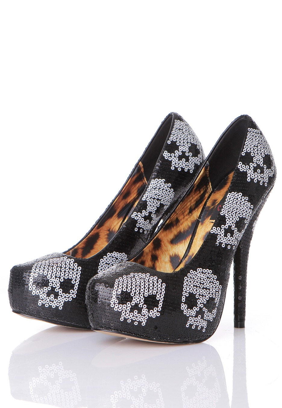 Black iron fist heels