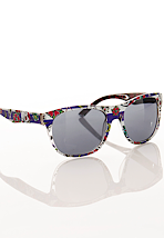 Iron Fist - Filthy Landlubber Blue/White - Sunglasses