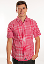 Iron Fist - Gingham Red/White - Shirt