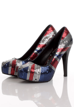 Iron Fist - Jacked Up Blue/Red/White - Heels