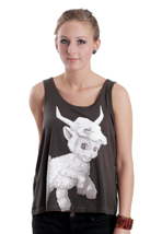 Iron Fist - Lamby Bow Back - Girl Tank