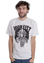 Iron Fist - MV Devil Of Jersey White - T-Shirt
