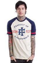 Iron Fist - Product Of Cali Navy/Dirty White - T-Shirt
