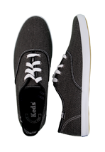 Keds - Champion Heavy Weave Black - Shoes