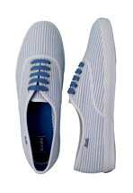 Keds - Champion CVO Simple Stripe Light Blue/White - Girl Shoes
