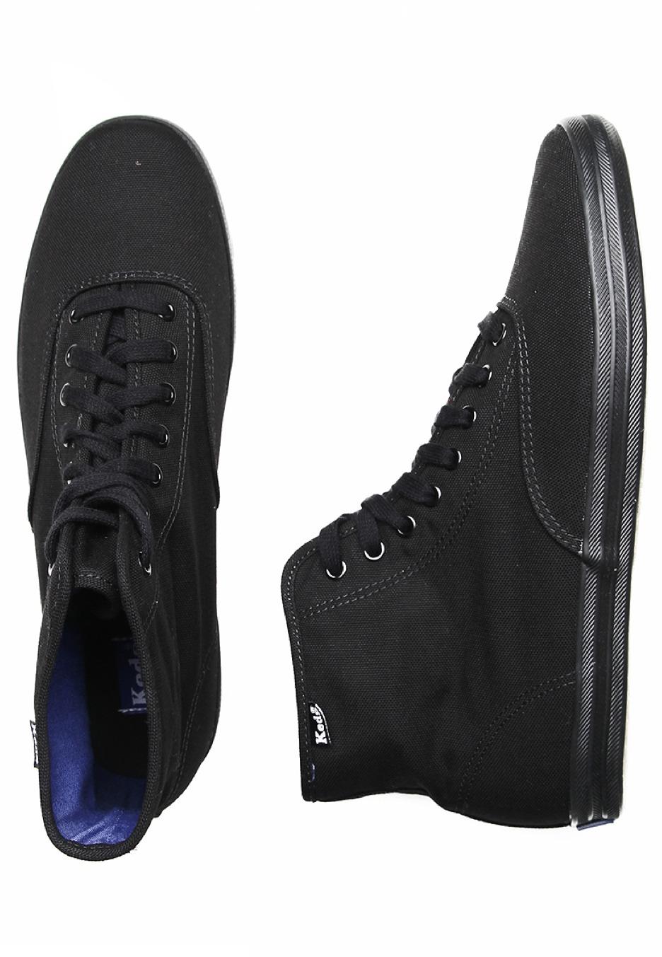 keds chion high black black shoes impericon