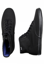 Keds - Champion High Black/Black - Girl Shoes