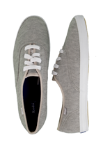 Keds - Champion OX Heather Grey - Girl Shoes