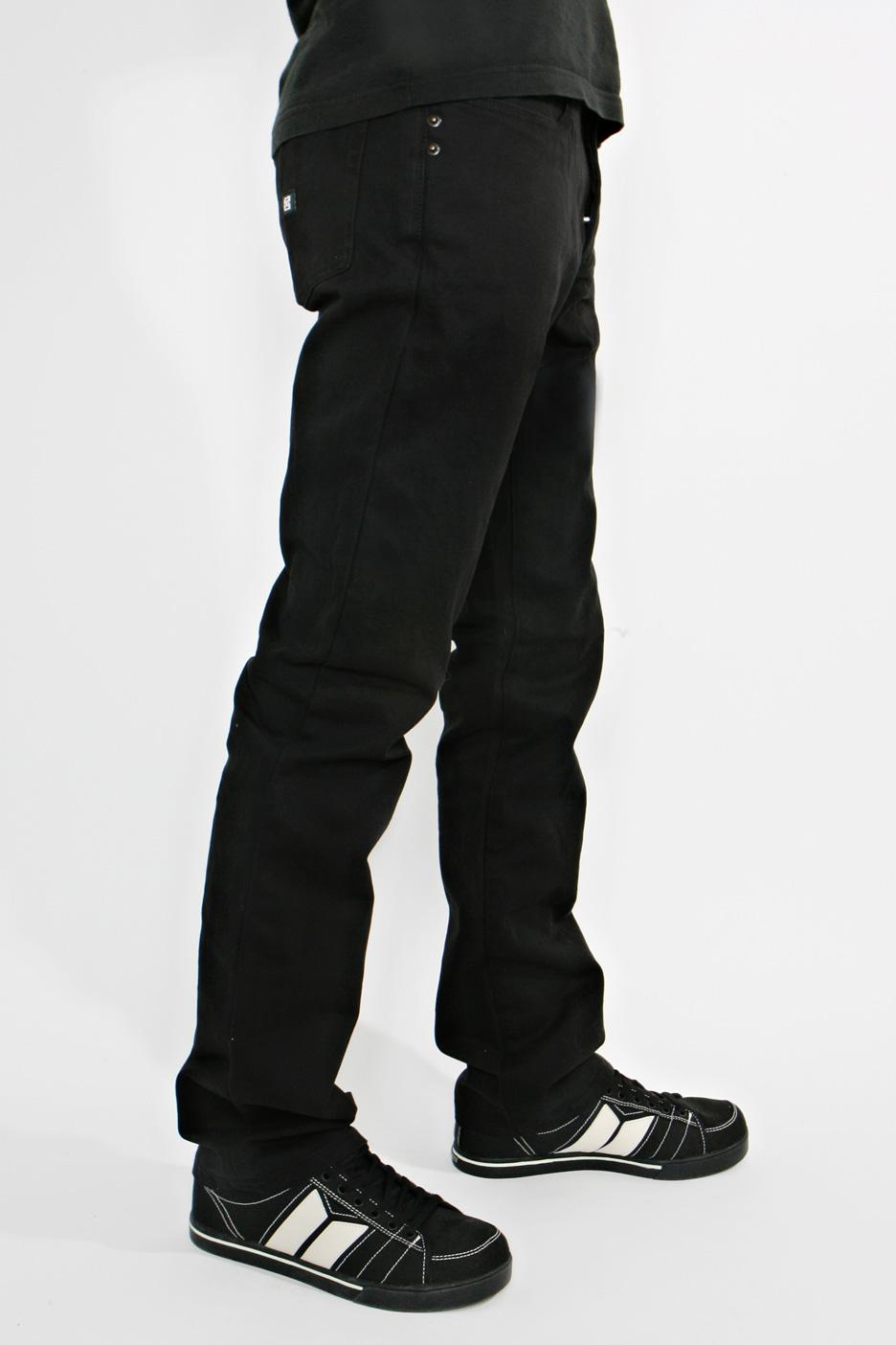 kr3w kslimtwill black jeans side lg - *$* Trendz in BLACK *$*
