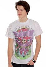 Kvelertak - Popping Eyes White - T-Shirt