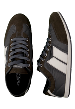 Macbeth - Brighton Anthracite/Medium Grey/Cement Synthetic Suede - Shoes
