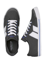 Macbeth - Eliot Dark Grey/White/Blue - Shoes