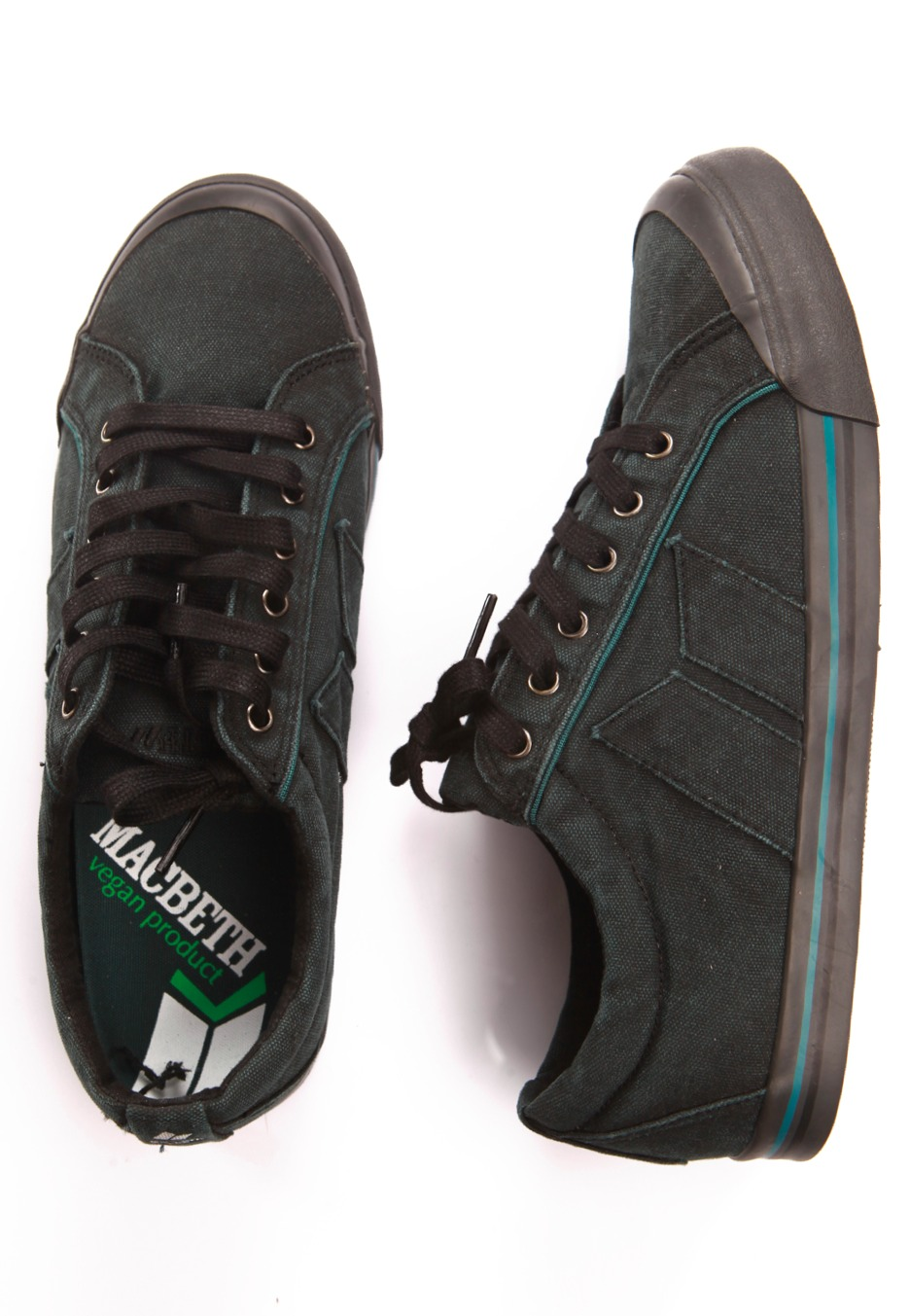 Macbeth - Eliot Premium Black/Marine - Shoes - Impericon ...