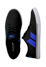 Macbeth - Langley Black/Cobalt Classic Canvas - Shoes