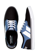 Macbeth - Langley Blue/Black/White - Shoes