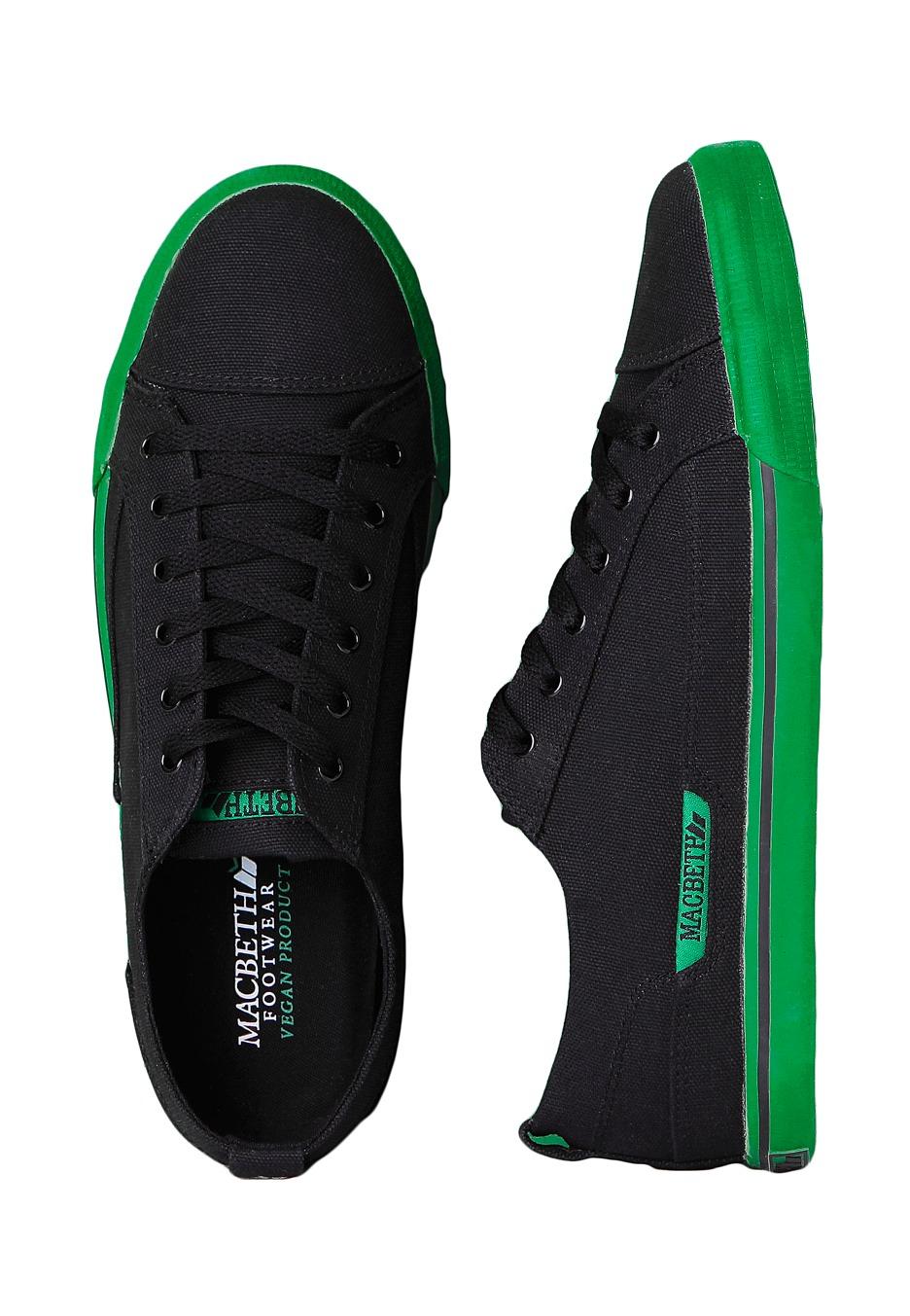 Macbeth Shoes Black And Green