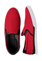 Macbeth - McQueen Red/White Classic Canvas - Shoes