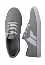 Macbeth - Pendleton Medium Grey/White Syntic Nubuk - Shoes