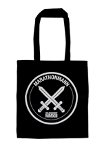Marathonmann - Schwert Label Black - Tote Bag