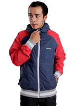 Mazine - Carter 2 Navy/True Red - Jacket