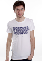 Mazine - Cities White - T-Shirt