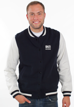 Mazine - Crew Night/Light Grey - College Jacket