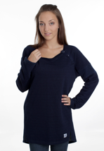 Mazine - Key Indigo - Girl Sweater