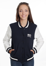 Mazine - Team Night/Light Grey - Girl College Jacket