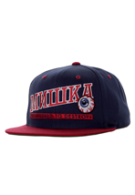 Mishka - Atlantic Navy/Red Snapback - Cap