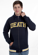 Mishka - Death Varsity Navy - Zipper