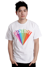 Mishka - Destroy Rising White - T-Shirt