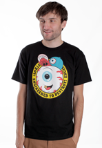 Mishka - Keep Watch Cartoon Crest - T-Shirt