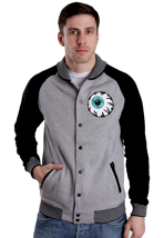Mishka - Keep Watch Fleece Black/Grey - College Jacket