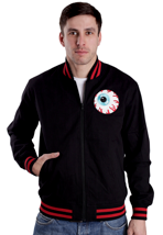 Mishka - Keep Watch Varsity Black/Red - College Jacket