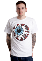 Mishka - Stained Glass Keep Watch White - T-Shirt