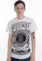 Miss May I - Bones White - T-Shirt