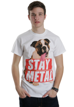 Miss May I - Bulldog White - T-Shirt