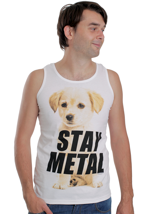 Miss May I - Metal Puppy White - Tank