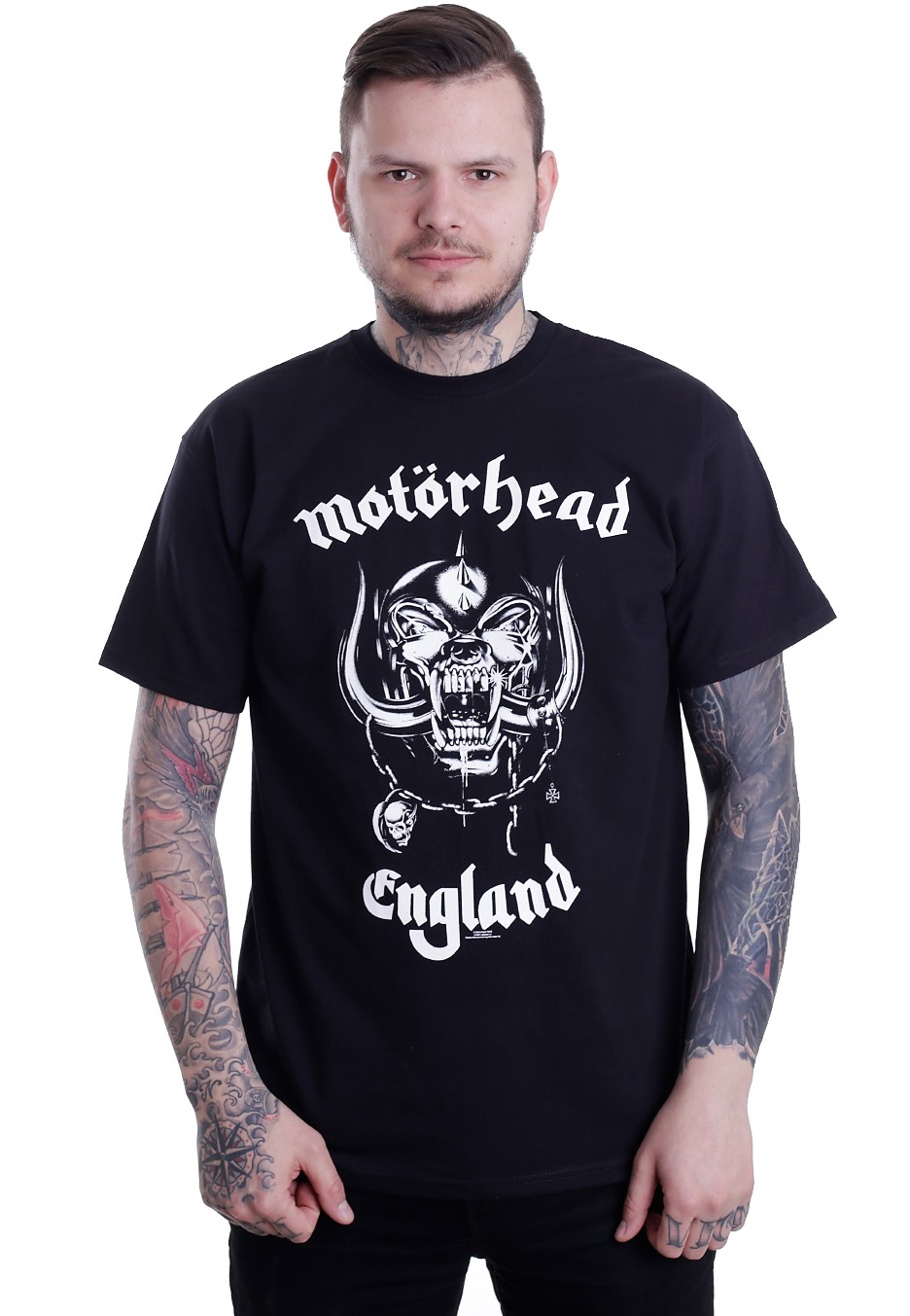 mot rhead england t shirt official metal merchandise. Black Bedroom Furniture Sets. Home Design Ideas